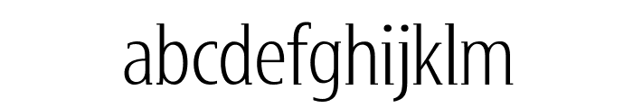 GershwinLight Font LOWERCASE