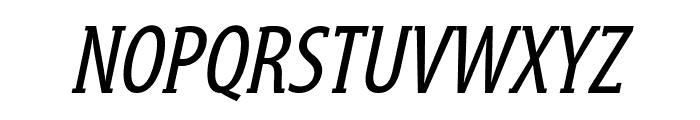 GershwinOblique Font UPPERCASE