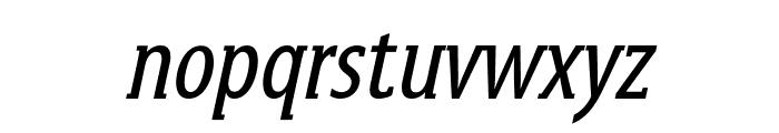 GershwinOblique Font LOWERCASE