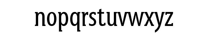 GershwinRegular Font LOWERCASE
