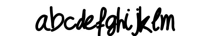 Geschrift Font LOWERCASE