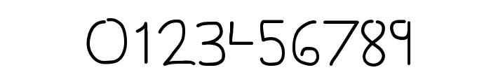 Gesture Sans Font OTHER CHARS