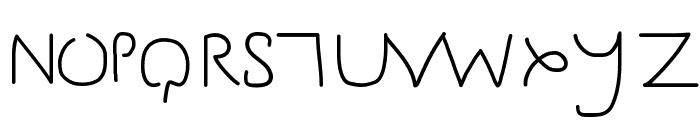 Gesture Sans Font UPPERCASE