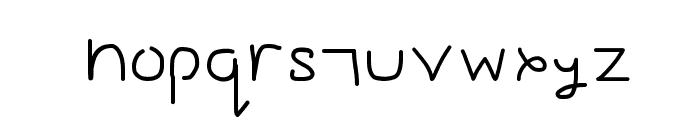 Gesture Sans Font LOWERCASE