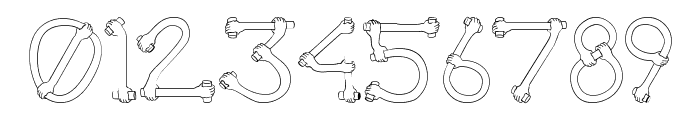 Get A Grip  Novelty Font OTHER CHARS