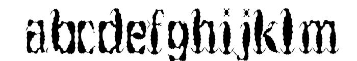 Get Burnt Font LOWERCASE