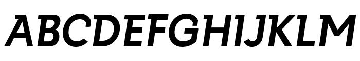 Getho Bold Italic Font UPPERCASE