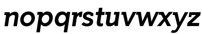 Getho Bold Italic Font LOWERCASE