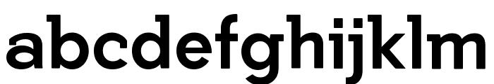 Getho Bold Font LOWERCASE