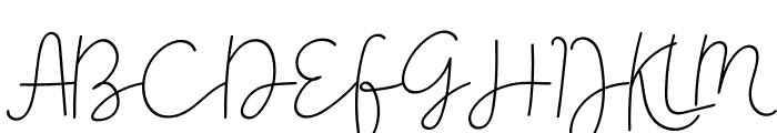 Gevano Font UPPERCASE