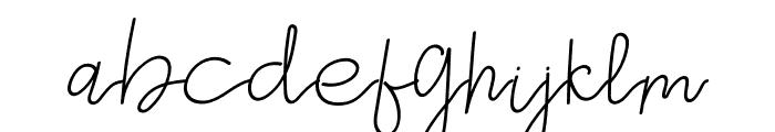 Gevano Font LOWERCASE