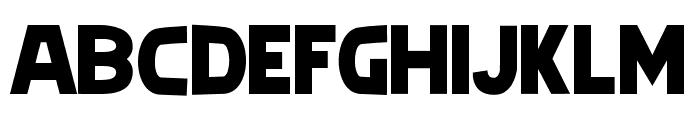 geoda Font UPPERCASE