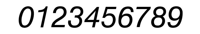 Geneva Oblique Font OTHER CHARS
