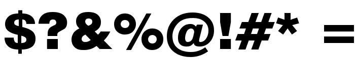 GenevaBlck Font OTHER CHARS