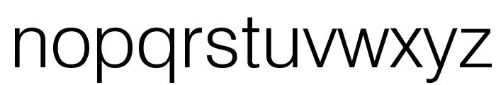 GenevaLght Font LOWERCASE