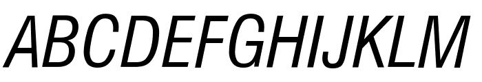 GenevaNrw Oblique Font UPPERCASE