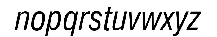 GenevaNrw Oblique Font LOWERCASE