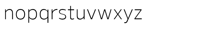 Gelder Sans Light Font LOWERCASE