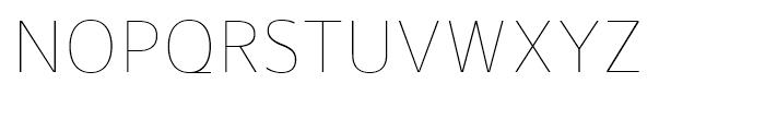 Gelder Sans Thin Font UPPERCASE