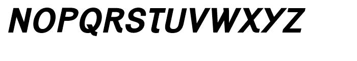Generation Gothic Bold Italic Font UPPERCASE