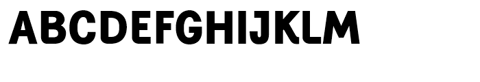 Generation Gothic Extra Bold Font UPPERCASE