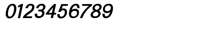 Generation Gothic Medium Italic Font OTHER CHARS