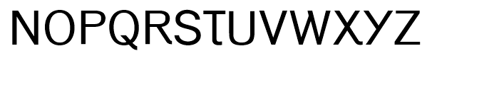 Generation Gothic Regular Font UPPERCASE