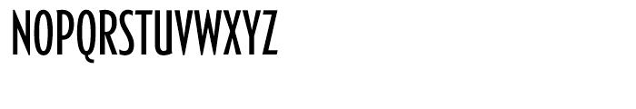 Generica Condensed Light Font UPPERCASE