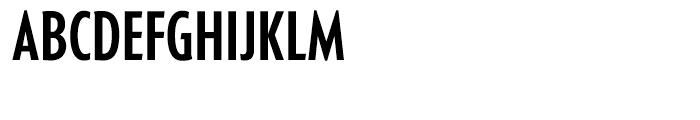 Generica Condensed Medium Font UPPERCASE