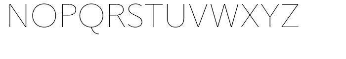 Gentleman Thin Font UPPERCASE