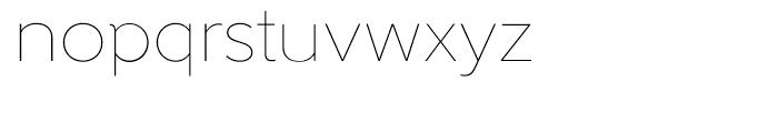 Gentleman Thin Font LOWERCASE