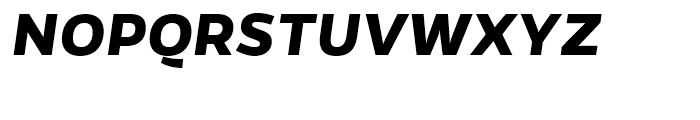 Gentona Bold Italic Font UPPERCASE