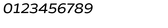 Gentona Book Italic Font OTHER CHARS