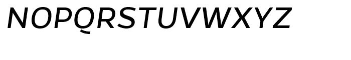 Gentona Book Italic Font UPPERCASE