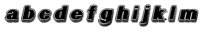 Geodec Fog Italic Font LOWERCASE