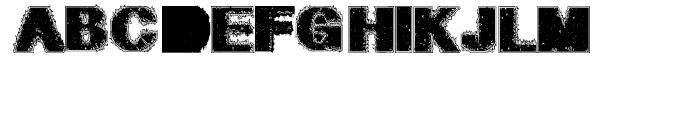 Geodec Petras Enhanced Regular Font UPPERCASE
