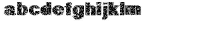 Geodec Petras Enhanced Regular Font LOWERCASE