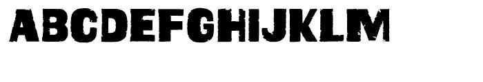 Geoduck Regular Font UPPERCASE