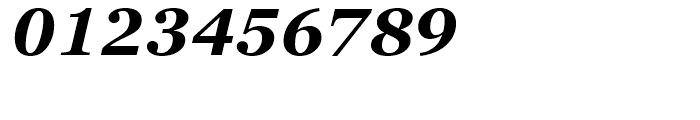 Georgia Pro Bold Italic Font OTHER CHARS
