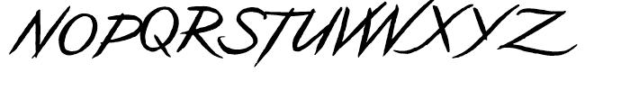 Geronimo Regular Font UPPERCASE