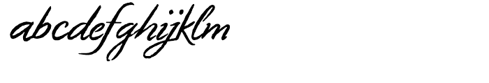 Geronimo Regular Font LOWERCASE