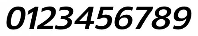 Gelder Sans Bold Italic Font OTHER CHARS