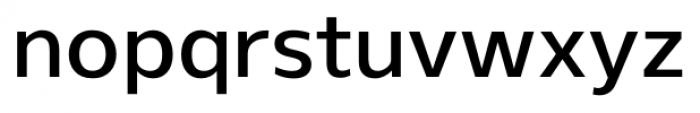 Gelder Sans DemiBold Font LOWERCASE