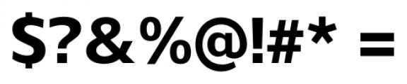 Gelder Sans ExtraBold Font OTHER CHARS