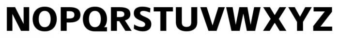 Gelder Sans ExtraBold Font UPPERCASE