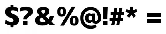 Gelder Sans Heavy Font OTHER CHARS