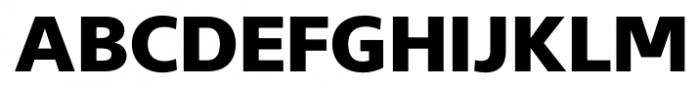 Gelder Sans Heavy Font UPPERCASE