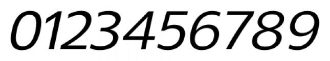 Gelder Sans Medium Italic Font OTHER CHARS