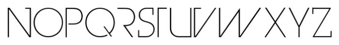 Genius Marks Light Font UPPERCASE