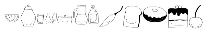 Gentil Doodles Doodles Font LOWERCASE